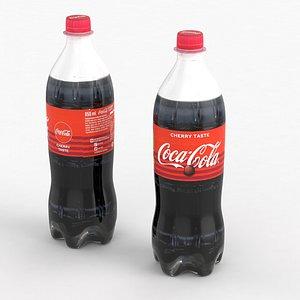3D model beverage bottle