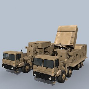3D engagement radar bavar-373