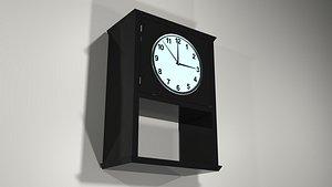 wall clock 3D