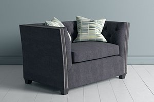 3D model couch occasional