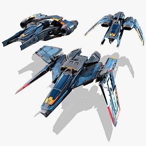 SF Multirole Fighter - MODULAR model