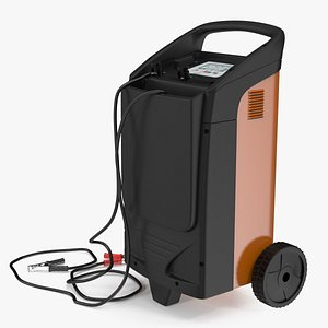 Professional Automotive Battery Charging System 3D model