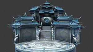 3D temple 3D