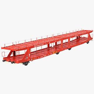 laaers 560 car transporter 3D model