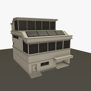 Modern Futuristic House model
