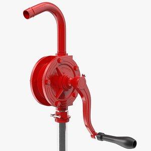 3D rotary barrel pump