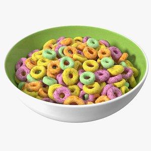 Colored Rings Breakfast model