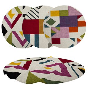 3D Rugs No 134