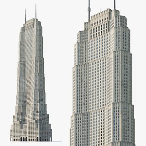 Metropolitan Life North Building COMPLETED 3D model