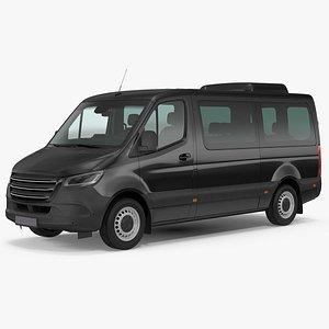 3D Executive Van model
