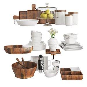 3D kitchen set