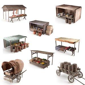 3D market ancient