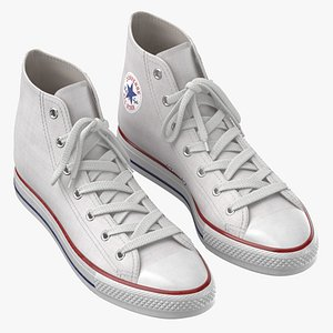 3D Basketball Shoes White