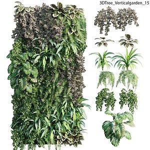 Vertical garden 15 3D