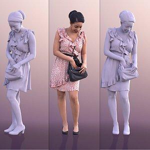 dress summer purse 3D model