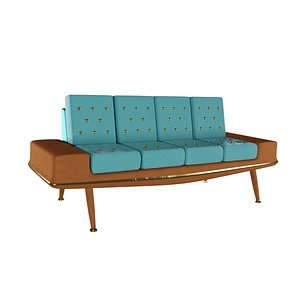 mod couch astro 3D model