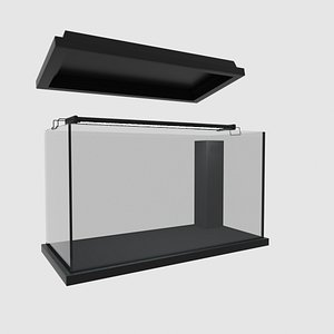 110L Aquarium model