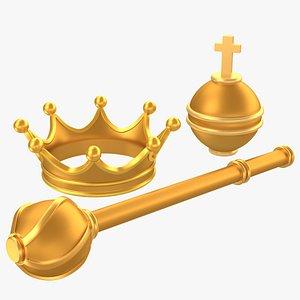 3D King Royal Attributes