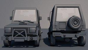 Car LowPoly 3D