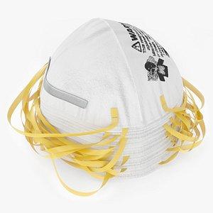 n95 3m 8210 respirator 3D