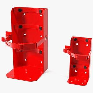 3D model heavy duty marine bracket