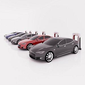 revit family charger 3D model