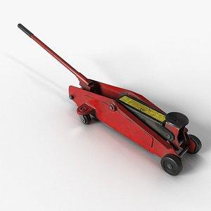 3D car jack model