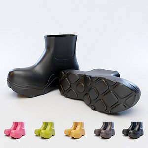 3D bv puddle boots