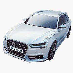 3D Audi A6