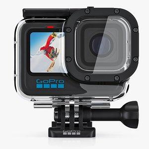 GoPro HERO 10 Black with Waterproof Case model