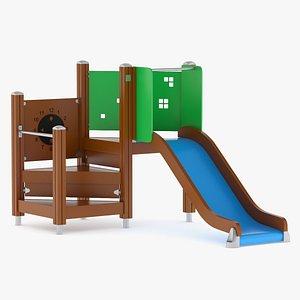 Lappset Slide 01 3D model