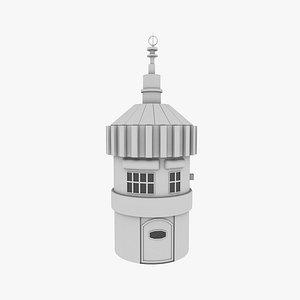 3D model house gear