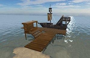 port 3D
