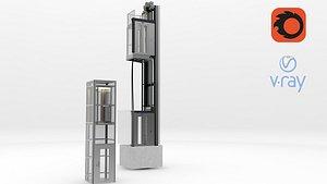 3D Elevator Lift