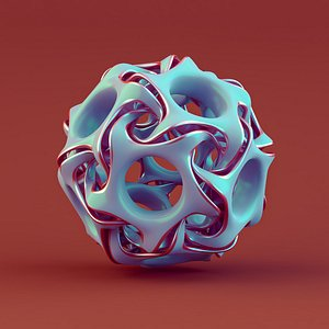 3D object abstract model