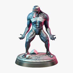 3D Venom figure