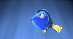 Dory Rigged model
