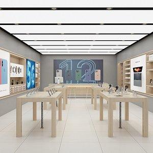 Apple Store Interior 02 3D model