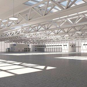 3D warehouse building room model