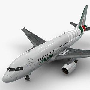 3D model AirbusA319-100ALITALIAL1400