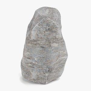 3D rock stone landscape model