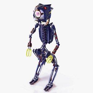 robot eye bot 3D