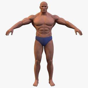 3D model Bodybuilder Base Mesh