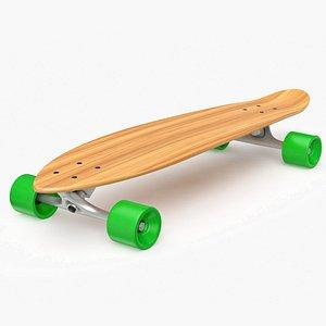 longboard board long 3D