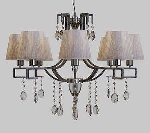 lamps chandelier lights 3D