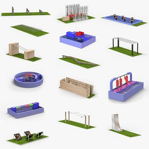 Obstacles Course Collection model
