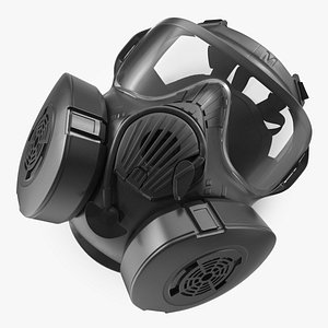 3D Joint Services General Purpose Mask M50 model