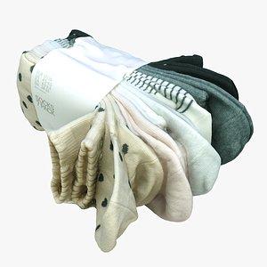 pack socks 3D