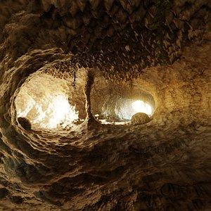cave rocks 3D model