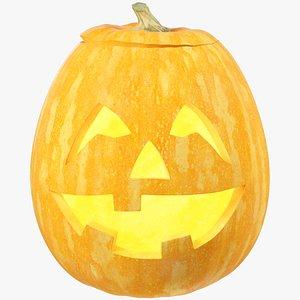Halloween Pumpkin V4 3D model